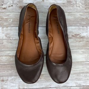 Lucky Brand leather ballet Flats 10
